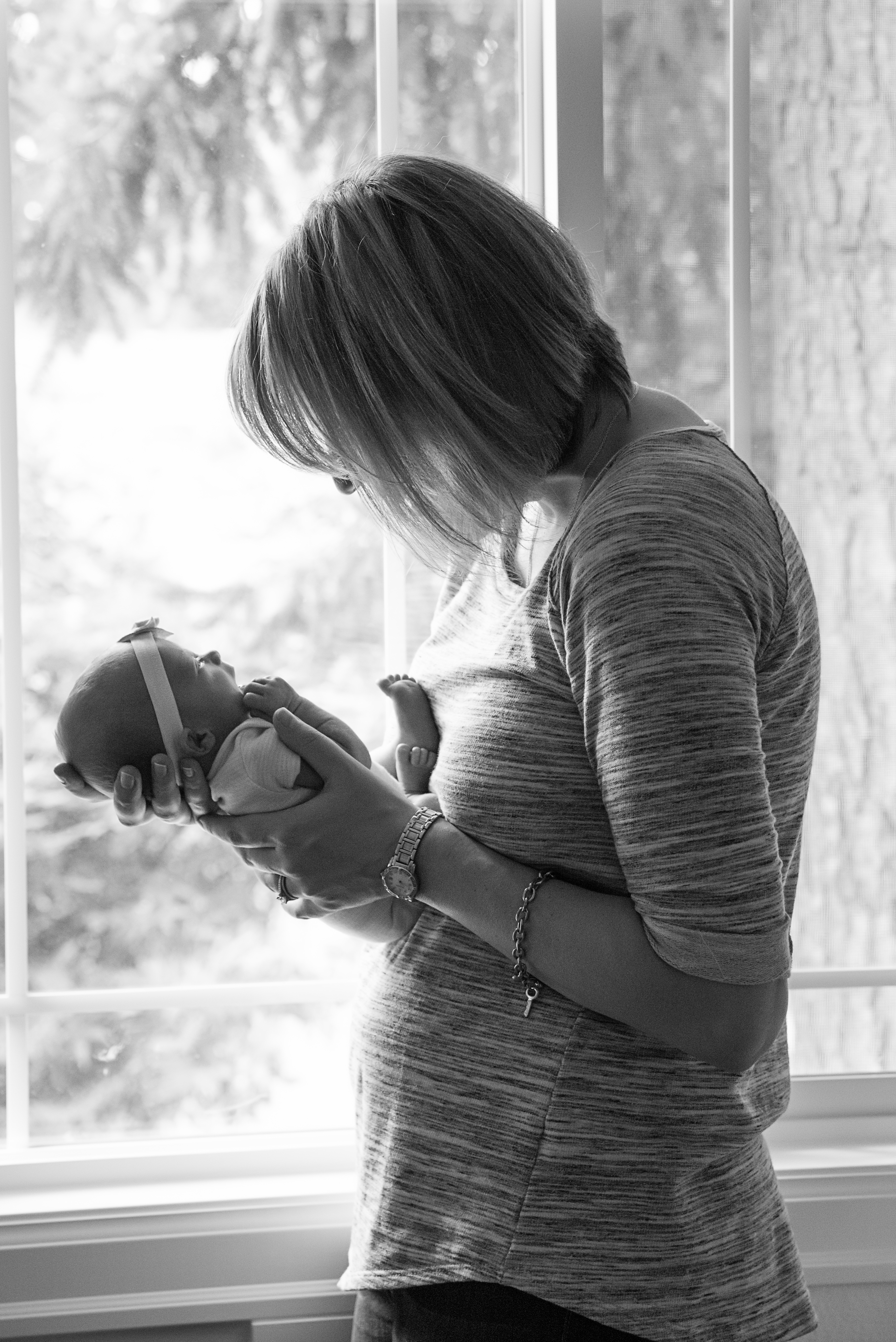 Newborn photoshoot- credit Red Letter Days Photography