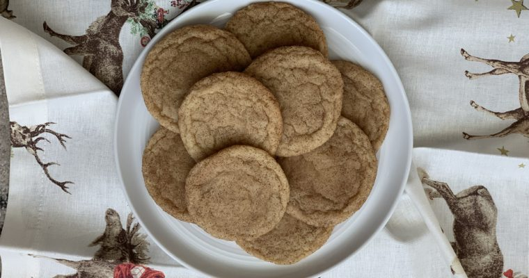 Mighty Maple Snickerdoodles